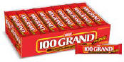 100 Grand Candy - 100,000 Candy Bar 36ct Box