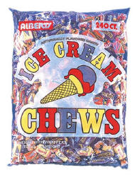 Ice Cream Fruit Chews 240ct Bag