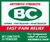 BC Arthritis Pain Powders
