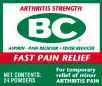 BC Arthritis Pain Powders