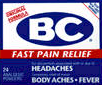 BC Original Headache Powders