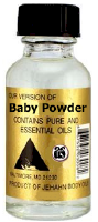 Baby Powder Body oil .5oz bottle
