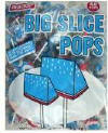 Big Slice Blue Rasberry Pops 48ct
