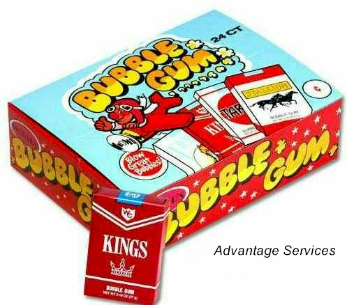 Bubble Gum Cigarettes 24ct Box