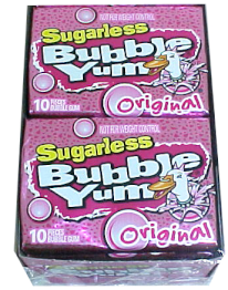 Bubble Yum Sugarless Bubble Gun 12ct