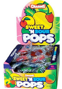 Charms Sweet and Sour Blow Pops 48ct