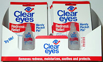 Clear Eyes 12ct Display Box