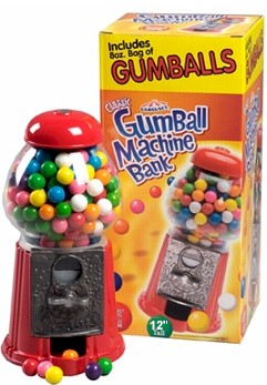 Carousel Junior Gumball Machine