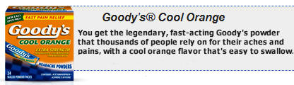 Goody's Cool Orange Powders