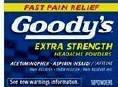 Goody's Powders Headache Body Pain PM Orange 36ct 24ct 12ct 6ct packets