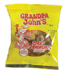 Grandpa John's Regular Fat Back Pork Cracklin 1.75oz-12ct