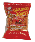 Grandpa John's Hot & Spicy Tender Pork Cracklin 1.75oz-12ct