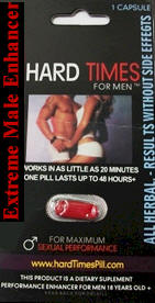 Hard Times Male Sexual Enhancement