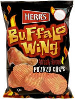 Herr's Buffalo Wing Potato Chips 1oz bags