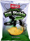 Herr's Creamy Dill Pickle 1oz bags