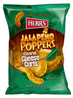 Herr's Jalapeno Cheese Curls 1oz bags
