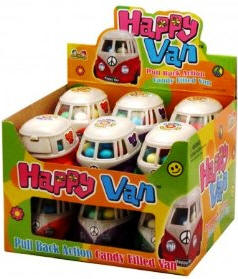 Kidsmania Happy Van Candy 12ct