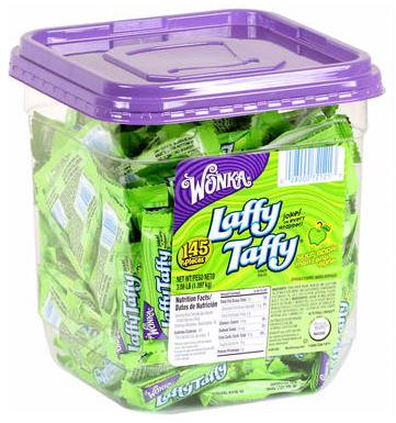 Laffy Taffy Tub Apple 145ct