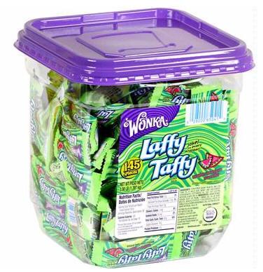 Laffy Taffy Watermelon Candy Tub Jar 145ct
