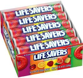 Life Savers 5 Flavor Candy Rolls 20ct - Life Savers 5 Flavor 41oz Bag