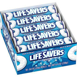 Life Savers Pep-o-Mint Candy Rolls 20ct