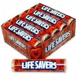 Life Savers Wild Cherry Candy Rolls 20ct