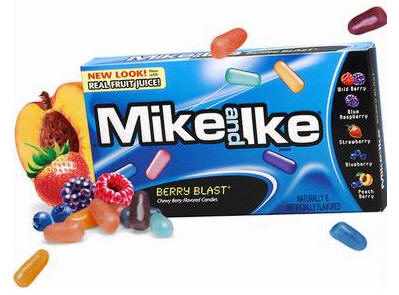 Mike and Ike Berry Blast Candy 24ct box