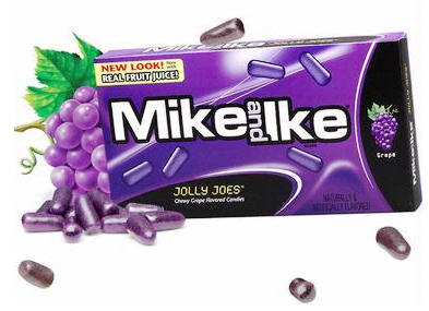 Mike and Ike Jolly Joes Candy 24ct box