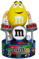 M & M Drummer Rock Stars Dispenser