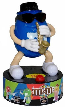 M & M Saxophone Rock Star Candy Dispensers