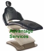 Midmark Elevance Dental Chair Scuff Toe Cover