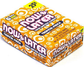 Now and Later Strawberry Candy Taffy box 24ct
