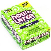 Now and Later Apple Candy Taffy box 24ct