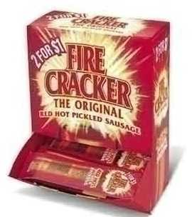 Firecracker Red Hot Sausage 50ct