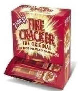 Fire Cracker Hot Sausage 50ct