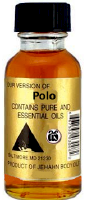 Polo Body oil .5oz bottle
