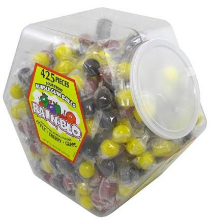 Rainblo Assorted Bubble Gum Tub 425ct