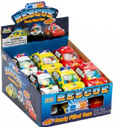 Kidsmania Rescue Cars Candy 12ct