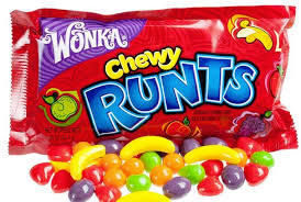 Runts Chewy - 24 bags per display box