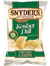Snyders Kosher Dill Potato Chips - Snyders of Hanover Kosher Dill Potato Chips