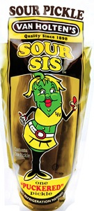 Van Holten's Sour Sis Pickle 12ct