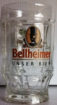 Bellheimer German Beer Glass 14oz