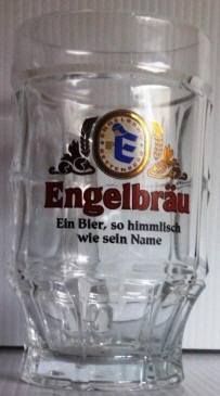 Engelbrau German Beer Glass 14oz