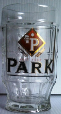 Park German Beer Stein - Park German Beer Glass 14oz