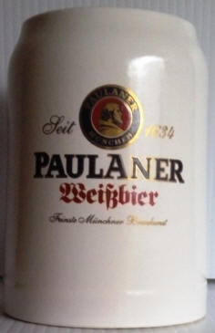 Paulaner German Beer Mug 14oz