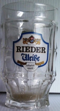 Rieder German Beer Glass 14oz