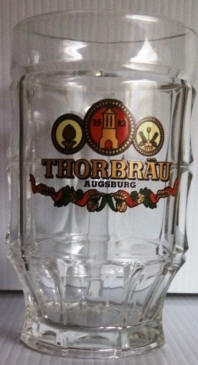 ThorBrau German Beer Glass 14oz