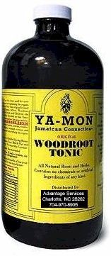Woodroot Tonic 16oz bottle - Ya Mon Wood Root Tonic 16oz bottle