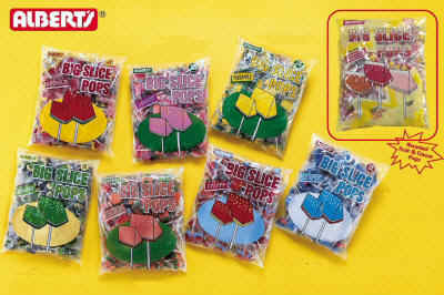 Big Slice Cherry Pops 48ct - $6.50