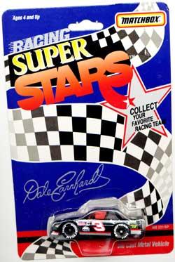 Dale Earnhardt 1991 Chevy Lumina Matchbox NASCAR Racing Super Stars